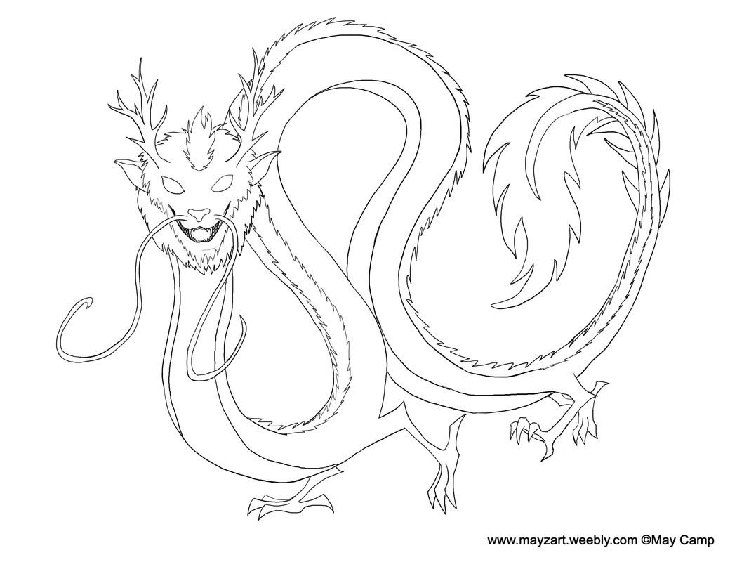 New Year S Line Art : Chinnewyear mayzart