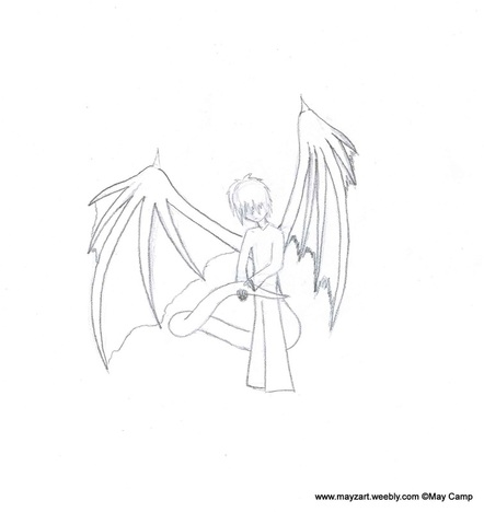 how to draw good dragon wings